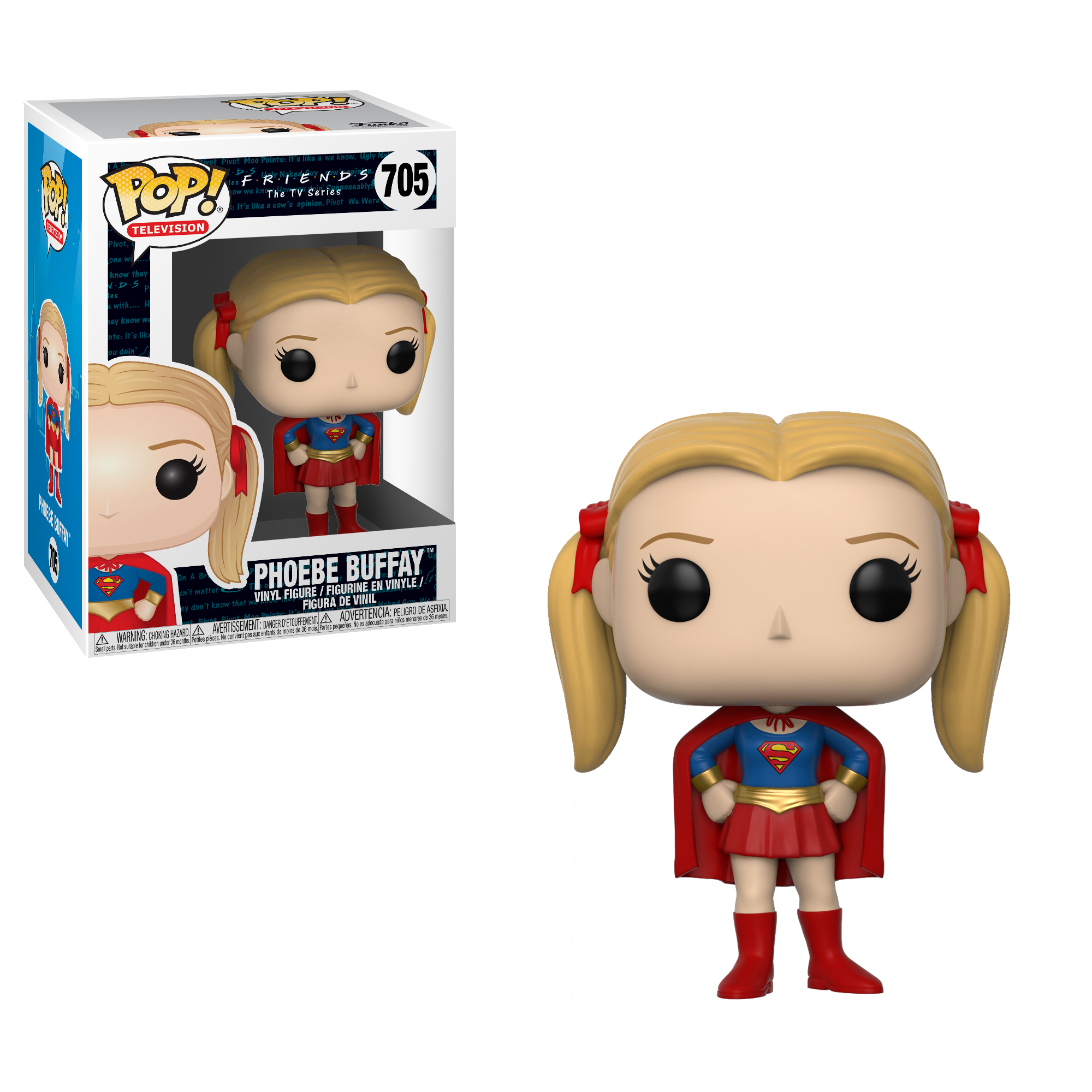 Funko POP TV: Friends - Phoebe as Supergirl