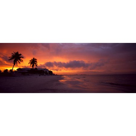 Walls 360 Peel Stick Wall Decal Sunrise at Fort Meyers Beach 36 in x 1