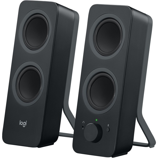 Logitech Z207 2.0 Stereo Computer Speakers, Black