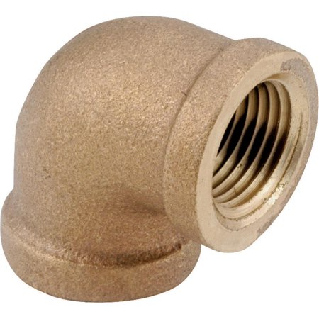 Brass 90 Elbow - Anderson 738100-32 Pipe Elbow, 90 deg, 2 in, IPT, Brass