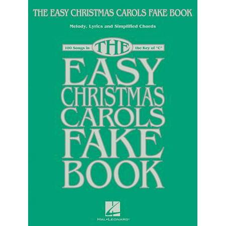 The Easy Christmas Carols Fake Book