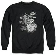Twilight Zone Someone On The Wing Mens Crewneck Sweatshirt