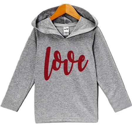 Custom Party Shop Baby's Love Valentine's Day Hoodie - 18 Months