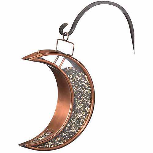 Good Directions Crescent Moon Bird Feeder, Venetian Bronze