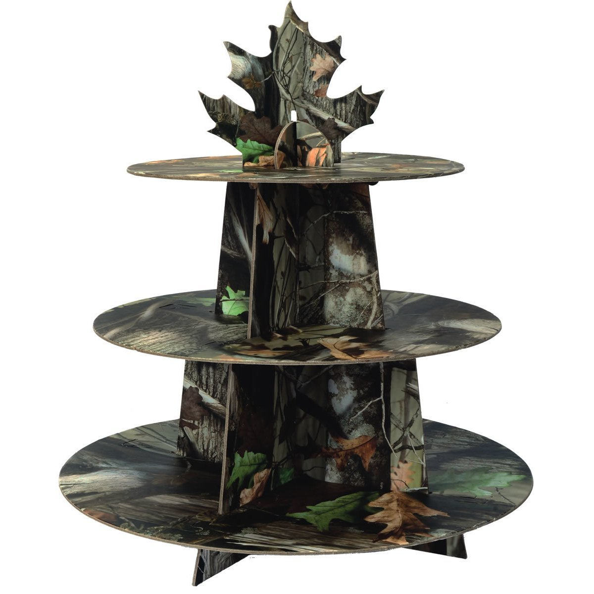 1 X Next Camo Cupcake Stand Camouflage Party Supply, 1 Cupcake Holder per package By Havercamp