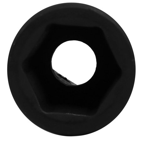 3/4-inch Square Drive 27mm Inner Hex 78mm Length CR-MO Steel Black Impact Socket - image 2 of 4