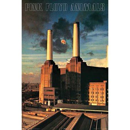Pink Floyd - Animals - Wall Poster : 24 Inches X 36