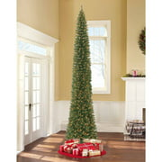 Holiday Time 12ft Brinkley Pencil Artificial Tree-clr