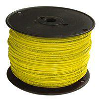 SOUTHWIRE 11592301 THHN 12 Gauge Building Wire, Solid Type, Yellow, 500 ft