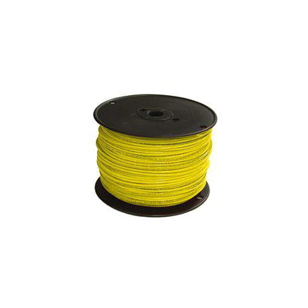 THHN 12 Gauge Building Wire, Solid Type, Yellow, 500 ft SOUTHWIRE COMPANY 11592301