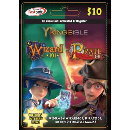 Kingsisle Combo Card (Wizard101 / Pirate101) $10