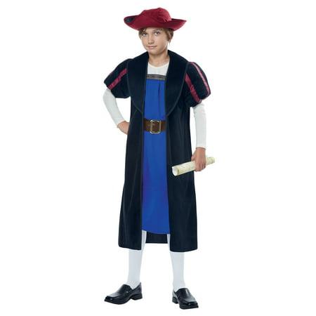 Child Christopher Columbus Explorer Costume California Costumes 00360