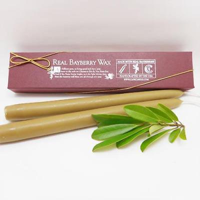 Cape Candle - Real Bayberry Wax Tapers 10