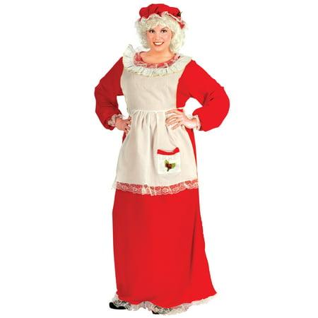 Mrs. Claus Women's Adult Halloween Costume - Mrs Piggy Costume
