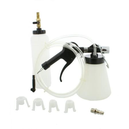 Fluted Tool (ABN Vacuum Brake and Clutch Bleeder Kit 90-120 PSI Air Pressure Fluid Bleed Tool)