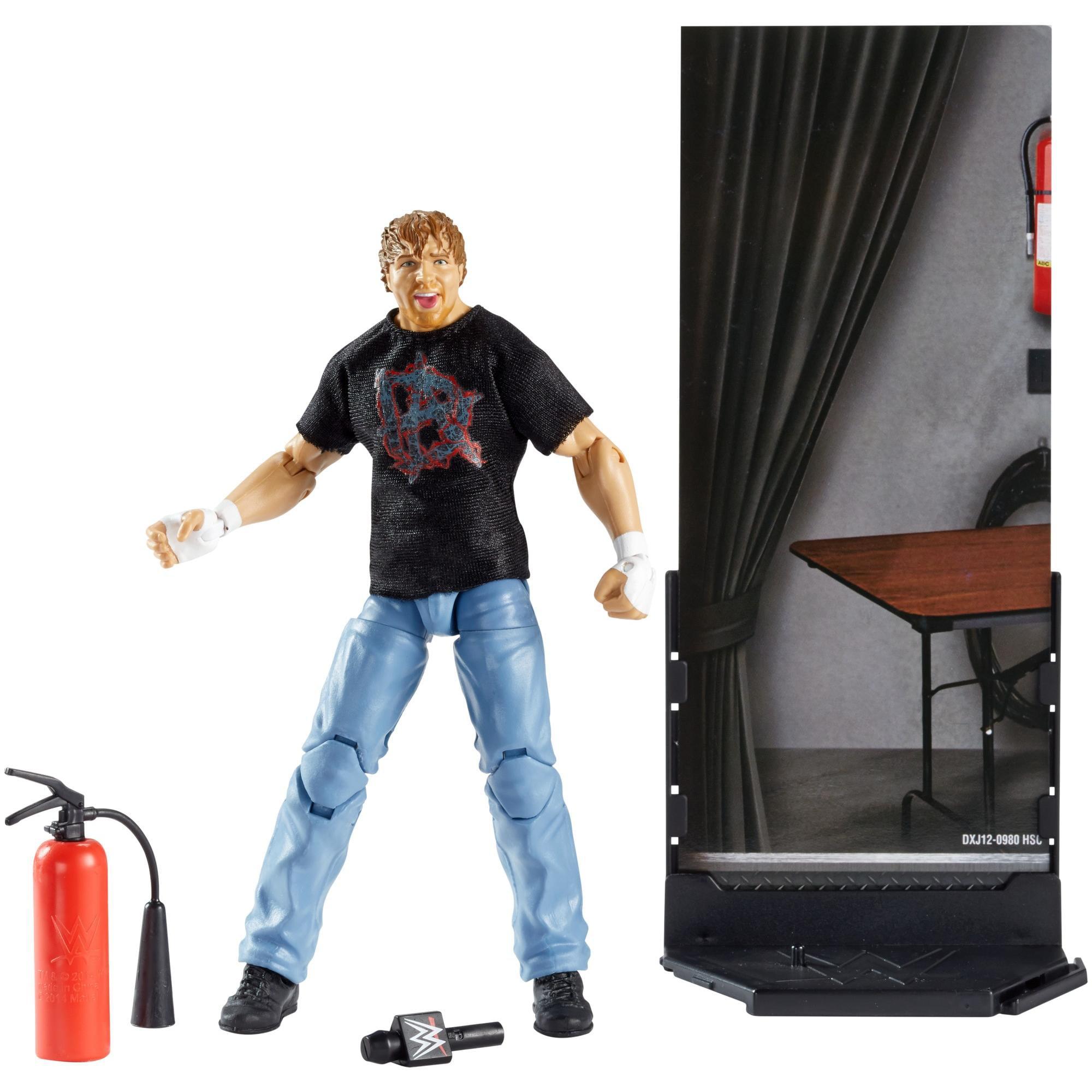 WWE Elite Collection Dean Ambrose Action Figure by Mattel