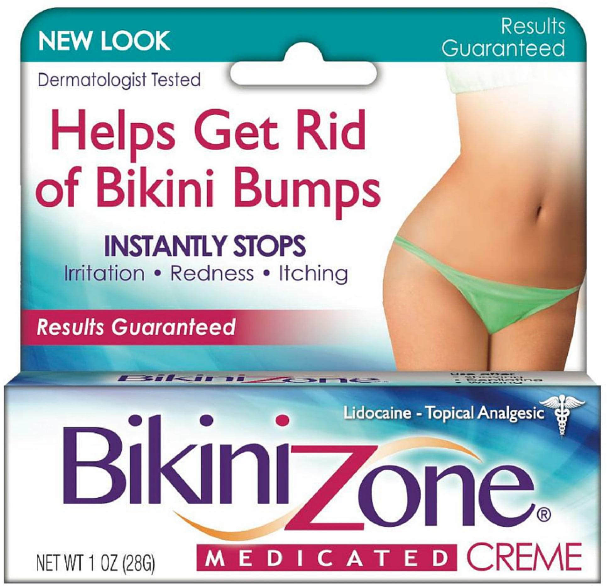 Bikini Zone Medicated Creme for Bikini Area 1 oz 018515016010