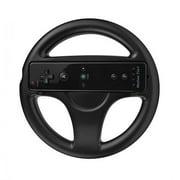 Racing Steering Wheel for Nintendo Wii Black Colour