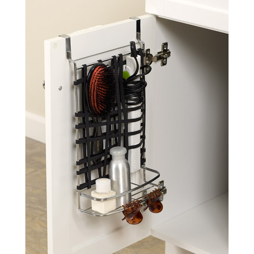 Stretch and Store Over-the-Vanity Door Organizer