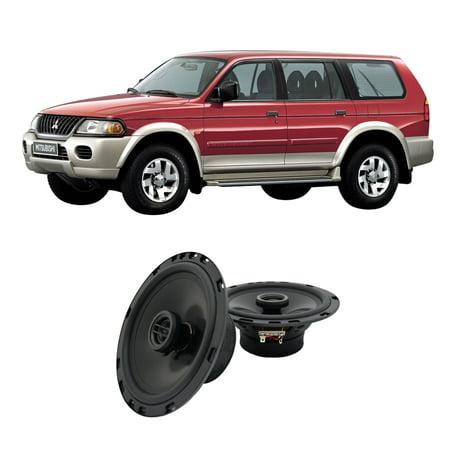 Fits Mitsubishi Montero 1997 2005 Rear Door Replacement Harmony Ha R65 Speakers