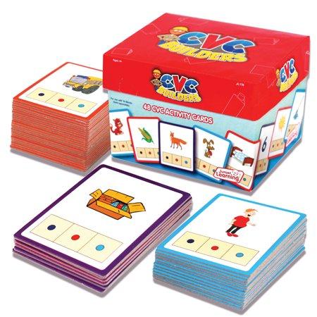 - Junior Learning CVC Word Builders Activity Cards