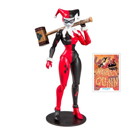 "McFarlane Toys DC 7"" Harley Quinn Classic Deluxe Figure"
