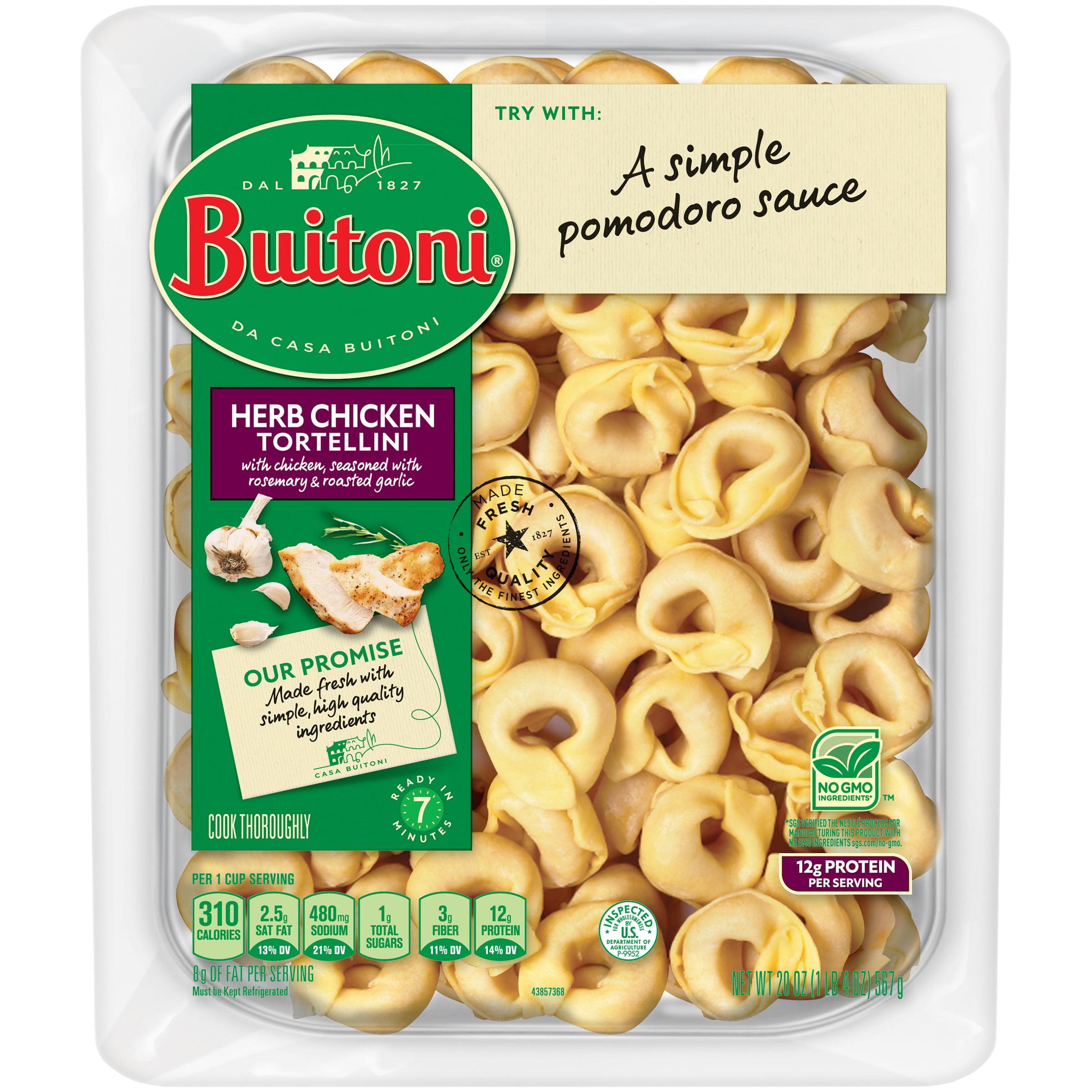 Buitoni Herb Chicken Tortellini Refrigerated Pasta 20 Oz Pack