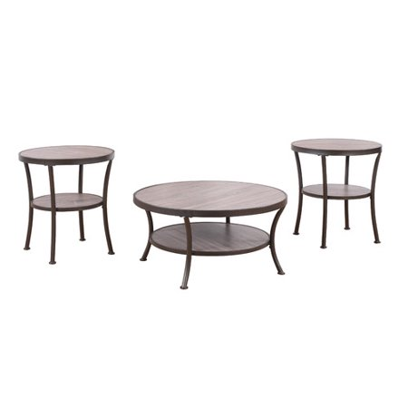 Awe Inspiring Ebern Designs Wragby 3 Piece Coffee Table And End Table Set Beutiful Home Inspiration Xortanetmahrainfo
