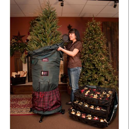 TreeKeeper Large Adjustable Christmas Tree Storage Bag for 7.5 to 9 Foot Trees