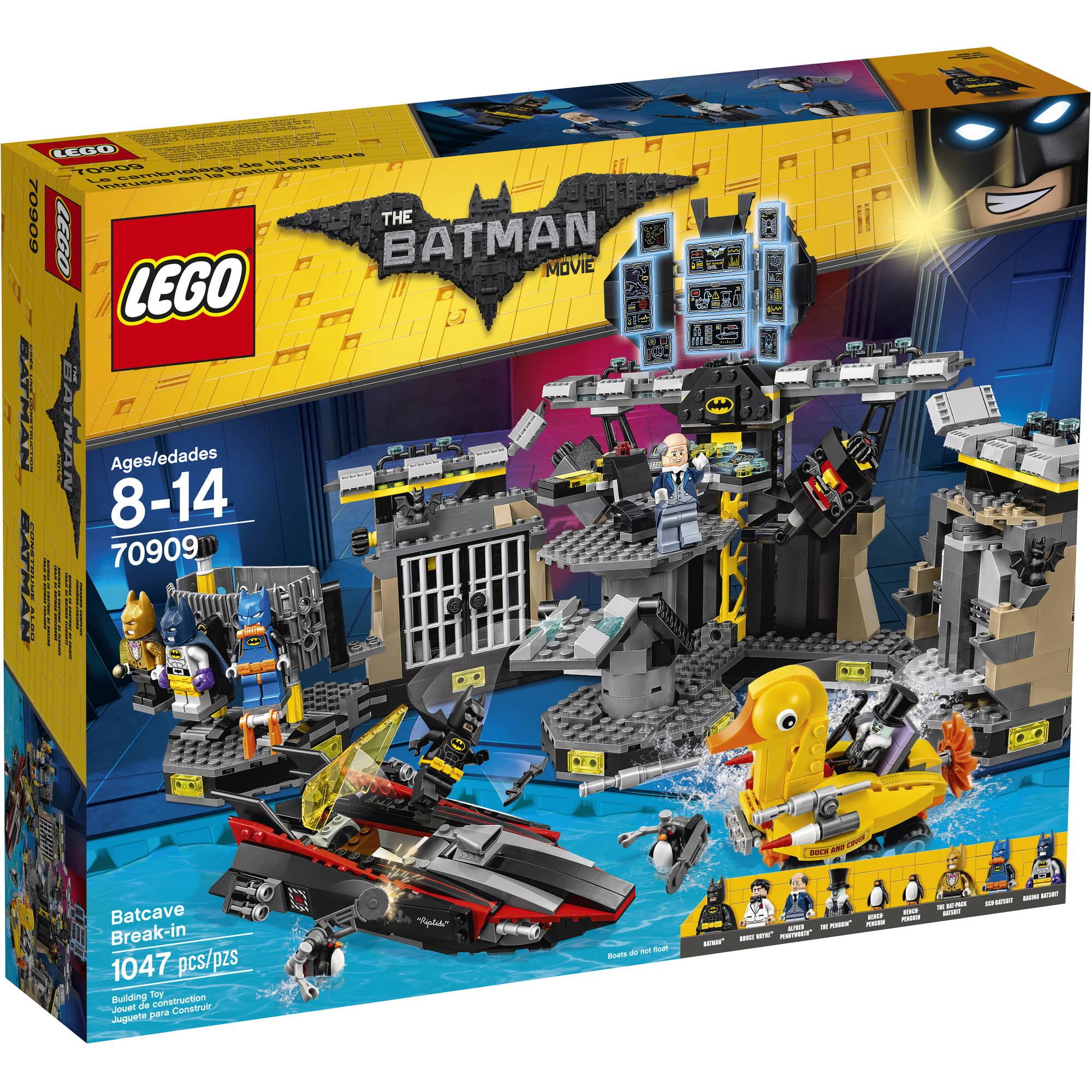 The LEGO Batman Movie - Batcave Break-in (70909) 70909