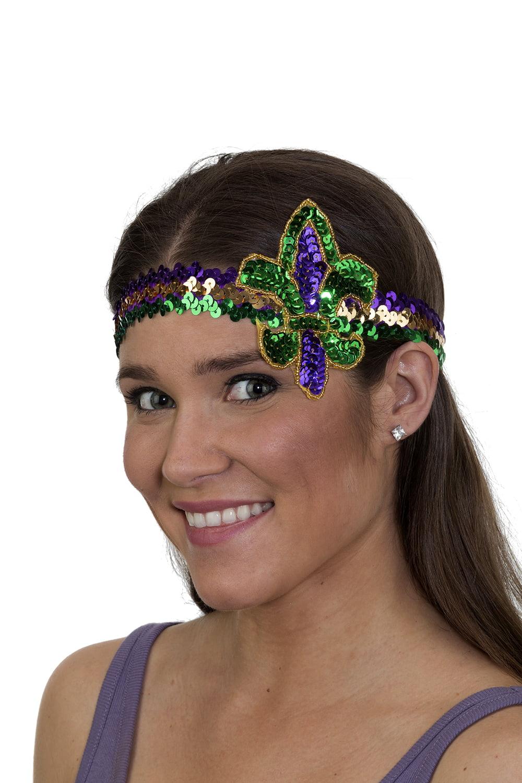 Brand New Fleur de Lis Headband Halloween Costume Accessory