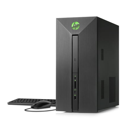 HP Pavilion Power 580-023w Gaming Tower, Intel Core i5-7400, NVIDIA GTX 1060 3GB Graphics, 8 GB Memory, 1TB Hard Drive, Windows 10 1/2 Hp Power Threading Machine
