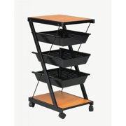 Martin Universal Design Double-Sided Book Cart