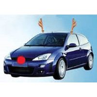 Car Reindeer Costume Dress Up Antler Kit With Nose Deluxe Be Jolly Christmas, 794080277963 By Novelty
