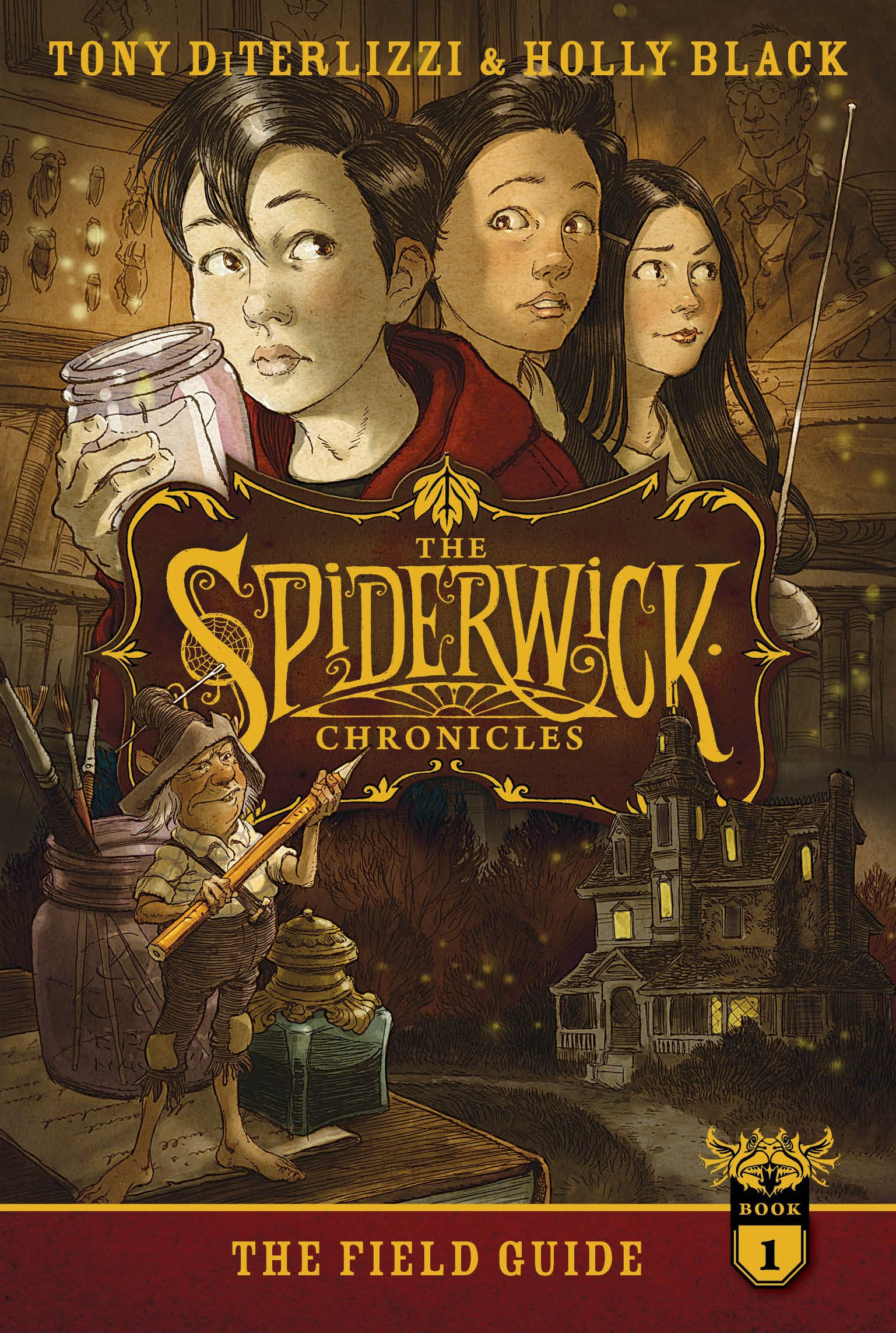 The spiderwick chronicles: the field guide scholastic shop.