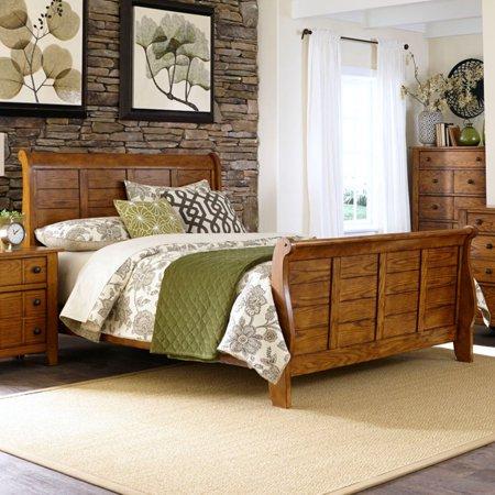 Liberty Furniture Grandpas Cabin Sleigh Bed - Liberty Grandpas Cabin