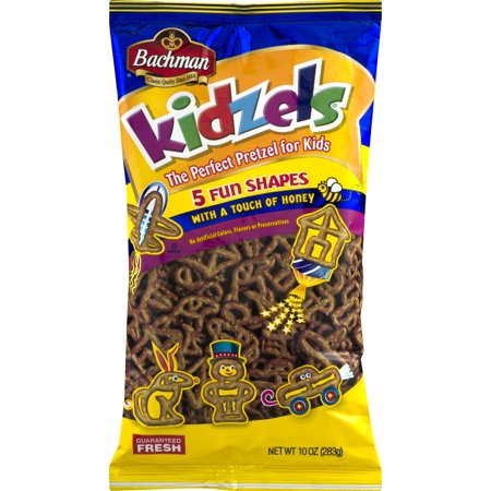 Bachmans Kidzels - Pretzels for Kids - 10 Oz. (4 Bags)