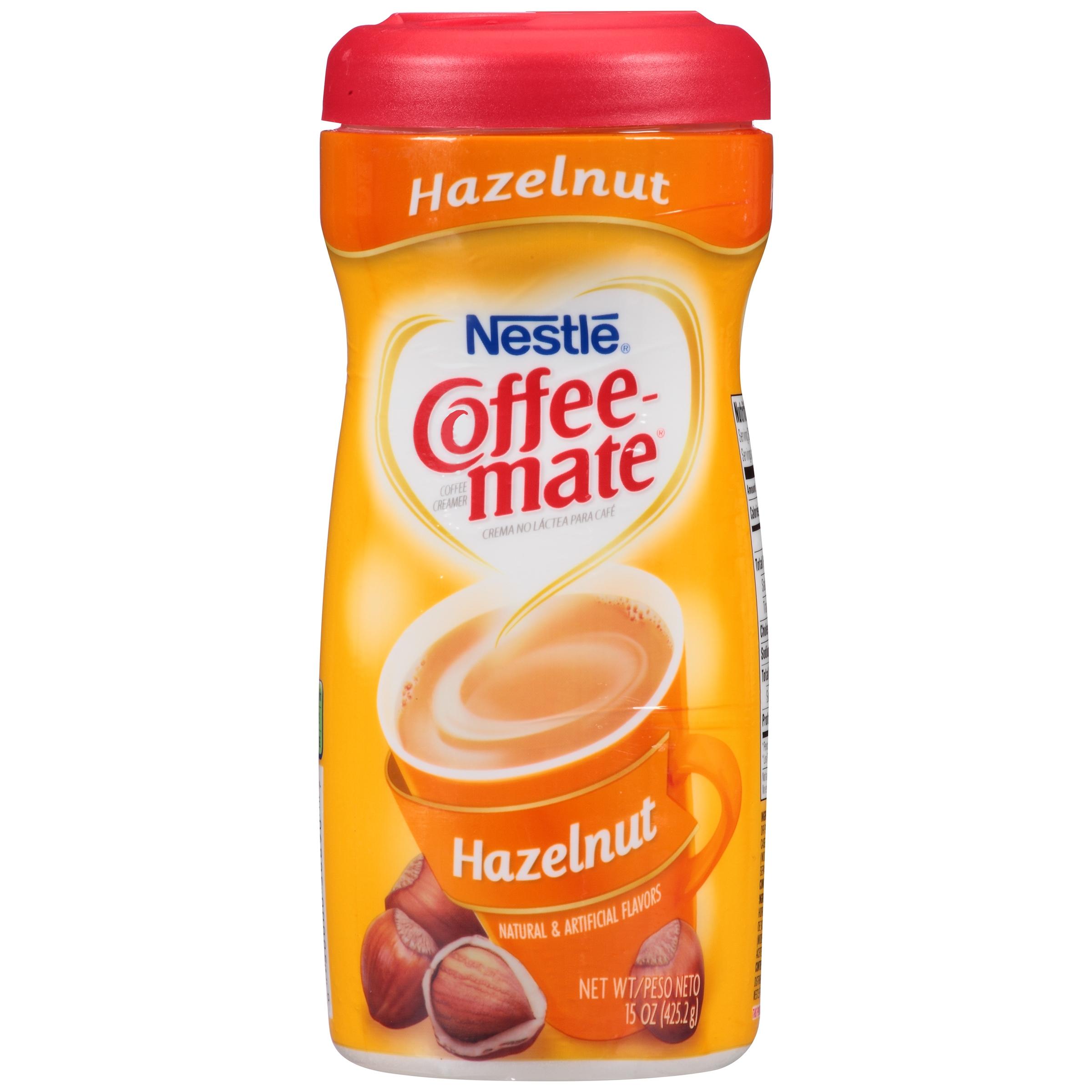 Coffee-Mate Hazelnut Powder Creamer, 15 oz