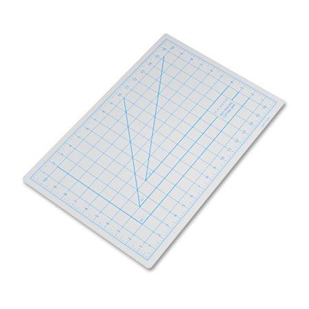 "X-ACTO Self-Healing Cutting Mat, Nonslip Bottom, 1"" Grid, 12 x 18, Gray -EPIX7761"