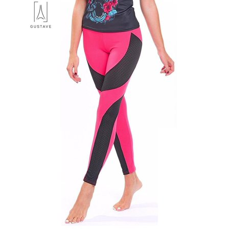 6e1061253987 GustaveDesign - GustaveDesign Women Yoga Pants Ladies Fitness Leggings  Running Gym Exercise High Waist Sports Trousers
