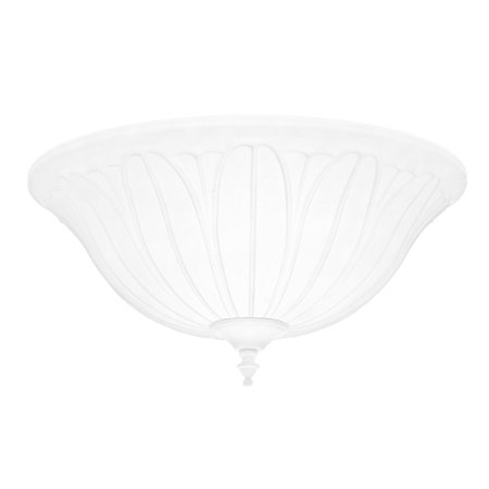 Hunter Fan Company 99158 White Cased Bowl Light Kit