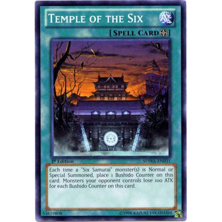YuGiOh Samurai Warlords Structure Deck Temple of the Six