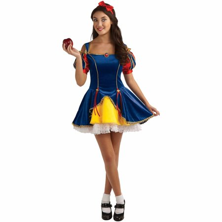 Snow White Teen Halloween Costume - Diy Scary Halloween Costumes For Teenagers