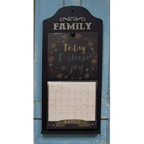 - Family Calendar Holder