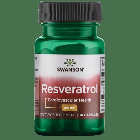 Swanson Resveratrol 100 mg 30 (Swanson Products)