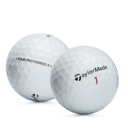 TaylorMade Tour Preferred X Golf Balls, Used, Mint Quality, 12 Pack