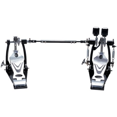 Union DDPD-669 700 Series Double Chain Double Bass Drum Pedal with Bag