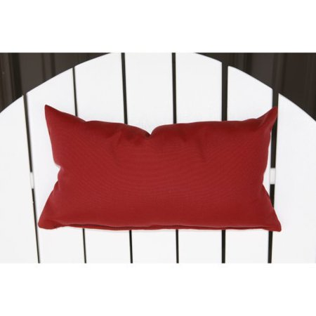 A & L Furniture Sundown Agora Chair Head Pillow with Elastic Back Attachment - 16x18 in.