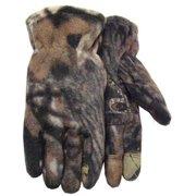 Midwest Quality Gloves 1496-XL Camouflage Fleece Glove, XL