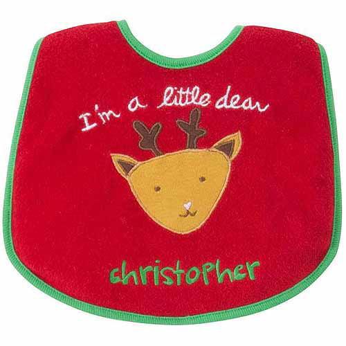 Personalized Sandra Magsamen I'm A Little Deer  Bib